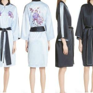 Opening Ceremony Reversible Silk Kimono